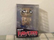 Beware The Floaty Bear By Nathan Cabrera Roman Dirge Vinyl Figure Signed Box