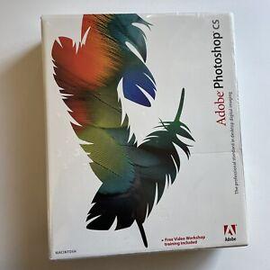 Genuine Adobe Photoshop CS Macintosh Brand New Factory Sealed!!