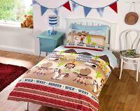 Rapport Kids Children's Wild West Cowboys and Indians Duvet Cover Bedding Set