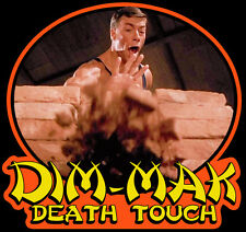 "80's Van Damme Classic Bloodsport ""Dim-Mak"" custom tee Any Size Any Color"