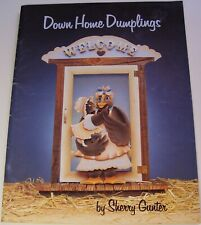 Down Home Dumplings Tole Painting Book by Sherry Gunter