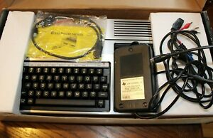 1980's Texas Instruments TI99/4A HOME COMPUTER in Original Box