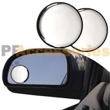 """2 Pcs Universal 2"""" Wide Angle Convex Rear Side View Blind Spot Mirror for Car"""