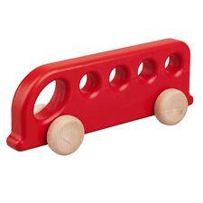 Holzauto BUS Holz Auto Fahrzeug Holzspielzeug Holzfahrzeug Motorikspielzeug Kind