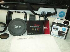 Vivitar 650-2600mm Telephoto Zoom Lens NEW for PENTAX DIGITAL & FILM CAMERAS