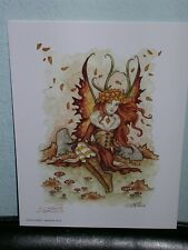 Amy Brown - Autumn Goddess - Out Of Print - Signed