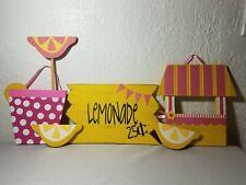 Lemonade Concession Stand Accessories Hanging Sign Set Decoration