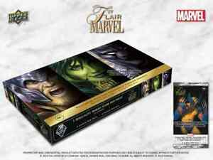 2019 Upper Deck Flair Marvel Trading Cards Factory Sealed Hobby PACK x1 - READ
