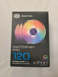 Cooler Master MasterFan Pro 120 Air Balance RGB 3 in 1 w/ CONTROLLER BOX 120mm