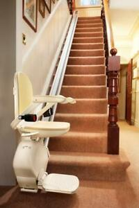 BROOKS STAIRLIFT WITH AUTOMATIC POWER FOLDING RAIL | BRAND NEW | INCLUSIVE PRICE