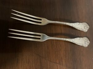 2 Strawberry Forks Sterling A. Stowell & Co.