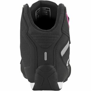 ALPINESTARS WOMEN'S SEKTOR SHOES - BLACK/PINK - SIZE 5 251571910395
