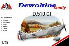 AMG 1/48 Dewoitine D.510 limited edition plastic kit