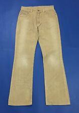 Calvin Klein jeans pantalone donna usato zampa bootcut w29 tg 43 beige mom T3581