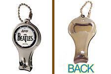The Beatles Ludwig Drum Kit Logo Nail Clipper Bottle Opener