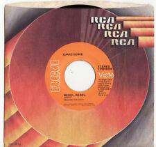 David Bowie 1st Edition Single Vinyl Records