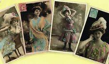 ☆ FRENCH ACTRESS / ARTISTE / CABARET SHOWGIRL / DANCER ☆ 1900s Postcards LIST 23