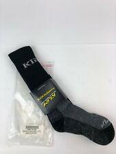 KLIM MAMMOTH Sock Black Snow MX ENDURO Adventure All Weather Socks Small New