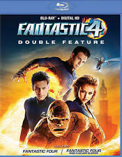 Fantastic Four/Fantastic Four: Rise of the Silver Surfer (Blu-ray Disc, 2016, 2-