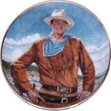 Franklin Mint Le John Wayne The Duke Porcelain Collector Plate 24K Border