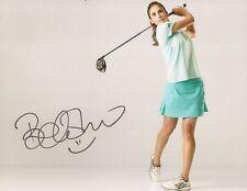 Belen Mozo LPGA Golf signed 8x10 photo autographed Spain 2