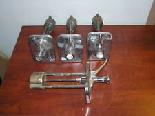 4pc lot of Vintage Soda Fountain / Ice Cream Parlor Syrup Dispenser Pumps