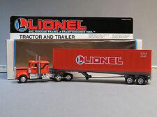 LIONEL TRACTOR & TRAILER LIONEL LINES 027/0 gauge train semi truck 6-12725 NOS