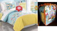 $120 Happy Valley Comforter Girl Mini Bedding Set-Full/Twin 2Shams Frank & Lulu
