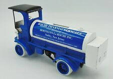ERTL steel bank 1910 Mack Manhattan Tanker Preowned Roche Pharmaceuticals w/key
