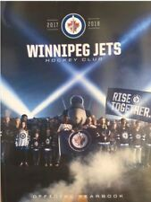 2017-2018 WINNIPEG JETS YEARBOOK STANLEY CUP FINALS? NHL 2018 NHL HALL OF FAME