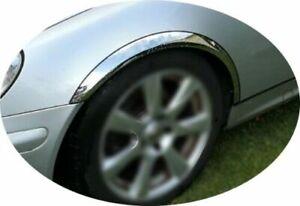 Fiat Stilo Multi Wagon Radlauf Zierleisten Chrom 4 Stück Vorne Hinten '03-08