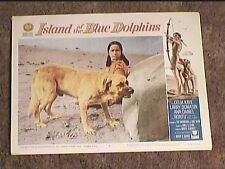 ISLAND OF THE BLUE DOLPHINS 1964 LOBBY CARD #8