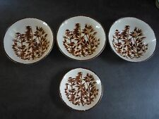 Johnson Brothers Stonecrest Wheat x3 Cereal Bowls & 1x Small Dish