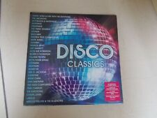 DISCO CLASSICS - 2 X  LP - VINYL - NEW- SEALED