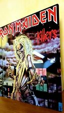 More details for iron maiden-killers 12x12 inch metal sign