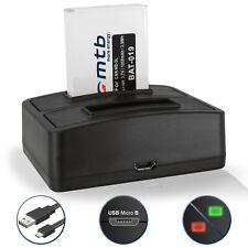 Bateria + Cargador doble NB-5L para Canon PowerShot SX210 IS, S110