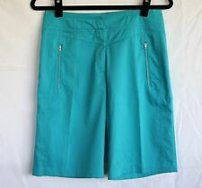 Tail Tech Performance 4 Aqua Blue Bermuda Golf Quick Dry Fitness Shorts PRISTINE
