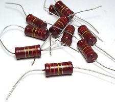 10x Widerstand Beyschlag 220 kOhm, 2W, f. Röhrenverstärker / Tube Amps