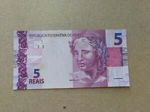 BRAZIL 2 reais Real Banknote World Paper Money UNC Currency Bill Note
