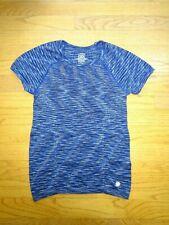 Girl's Athleta Heather Blue Top Blouse Shirt T-Shirt Size L/12