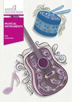 Musical Instruments Anita Goodesign Embroidery Machine Design CD