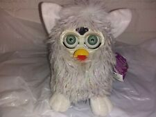NWT Furby Champagne Glitter Green eyes TIGER 1999 Has some shelf Wear Stains
