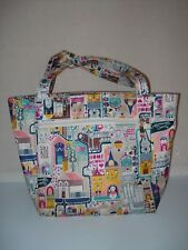 COLORFUL EUROPE HOME STYLE INSULATED LUNCH TOTE SATCHEL SMALL DIAPER BAG EUC