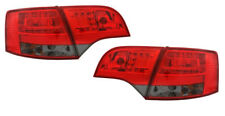 Back Rear Tail Lights Lamps LED Red-Black For Audi A4 B7 Avant 11/04-03/08