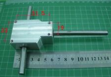 DIY 90° Right Angle Gearbox Speed Reducer Transmission Ratio 1:1 Shaft 8mm[SN2]