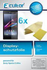 6x Sony Xperia Z Ultra Film de protection d'écran protecteur cristal clair