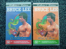 BRUCE LEE VHS Videos x 2 Collector's Editions