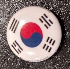 Korea Flag Metal Pin Badge