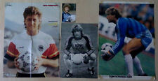 Fotos nationaler Fußballer ohne Signatur
