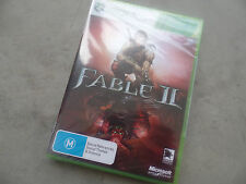 XBOX 360 FABLE II - BRAND NEW - SEALED
